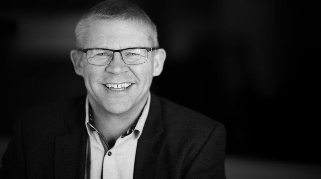 NY STILLING: Morten Hotvedt har begynt i Eneo Eiendom.