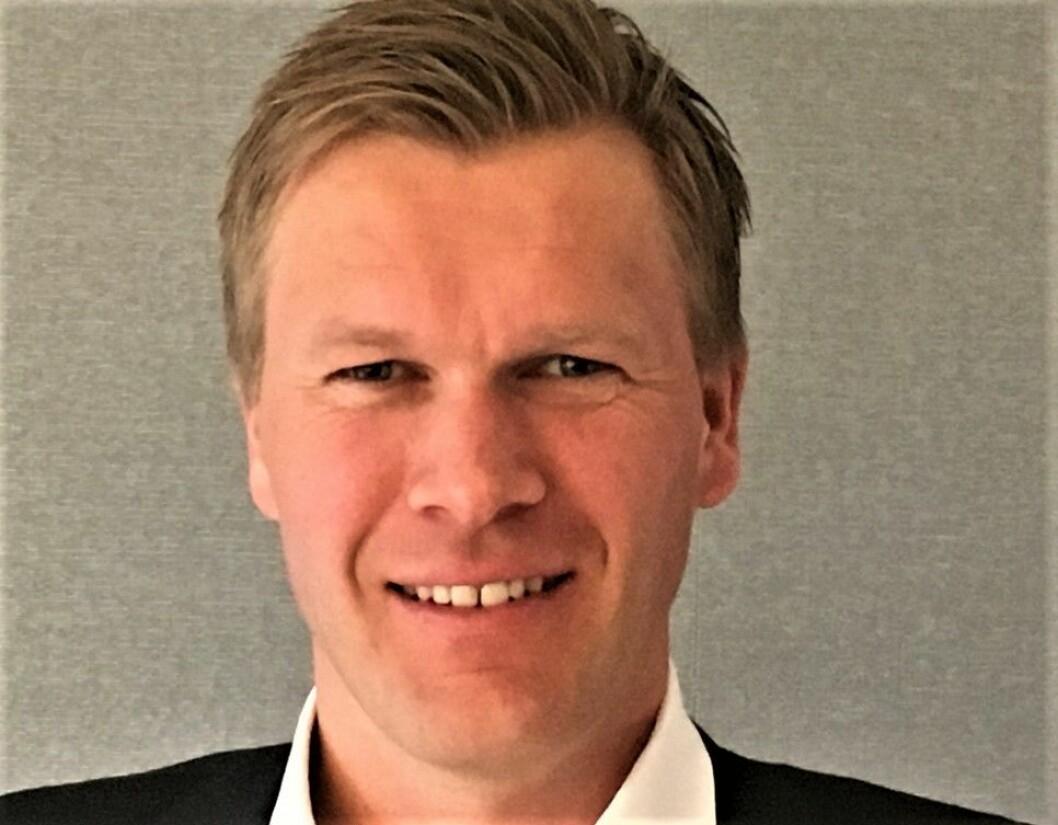 LEVERTE VARENE: Daglig leder Anders Brustad-Nilsen i Realkapital Investor.