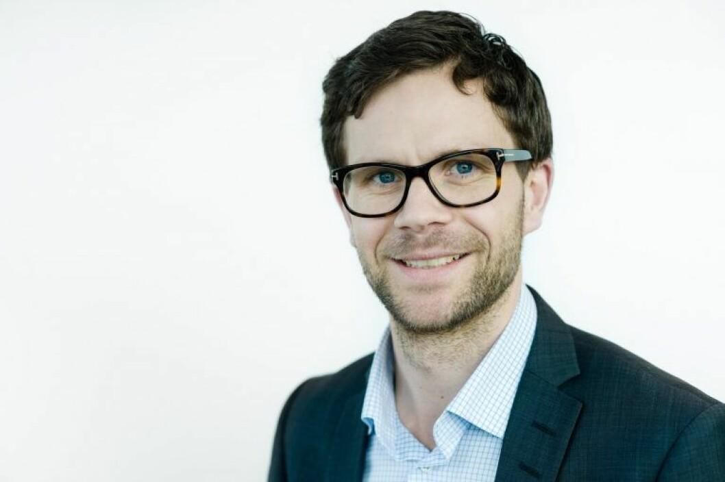 ØKTE OVERSKUDDET MED 50 PROSENT: Heilo Eiendom, her representert ved partner Christian Bruun-Kallum.