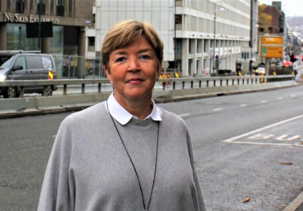 VIL KJØPE MER: Lille Oslo Eiendom er i markedet for å øke leilighetsporteføljen. Her representert ved Hilde Matre, som er daglig leder i selskapet.
