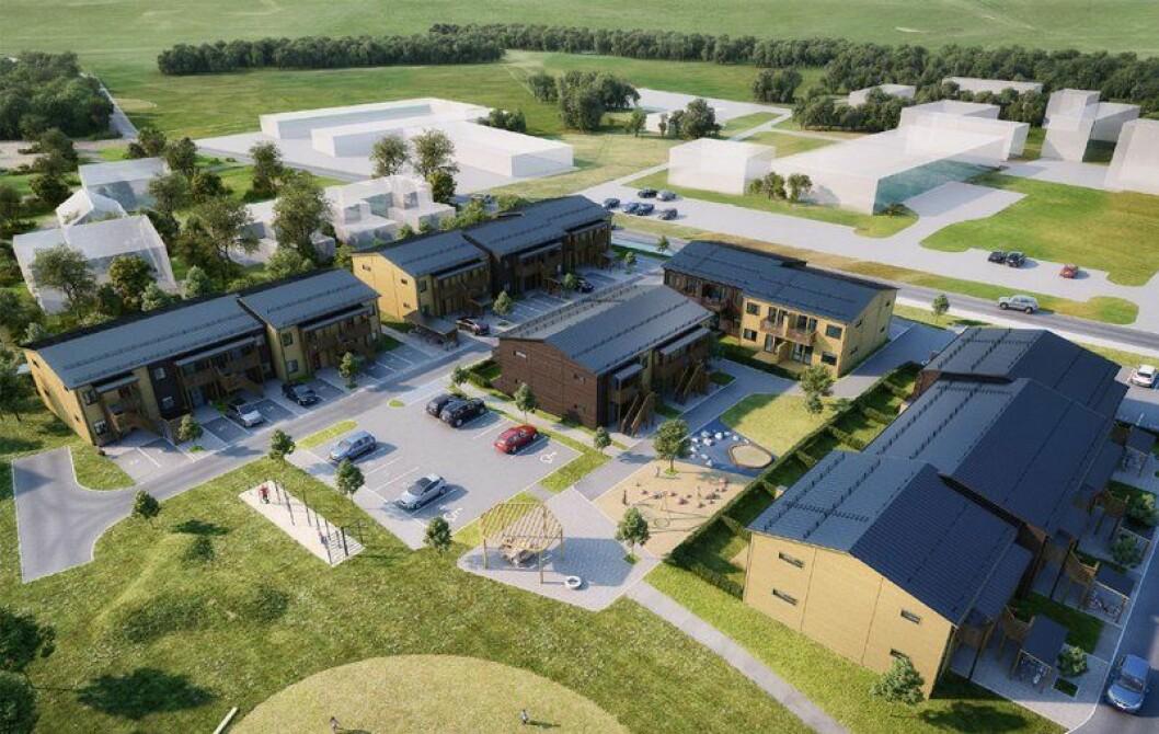 FORSVARET: Block-Watne skal bygge boliger på Ørland.