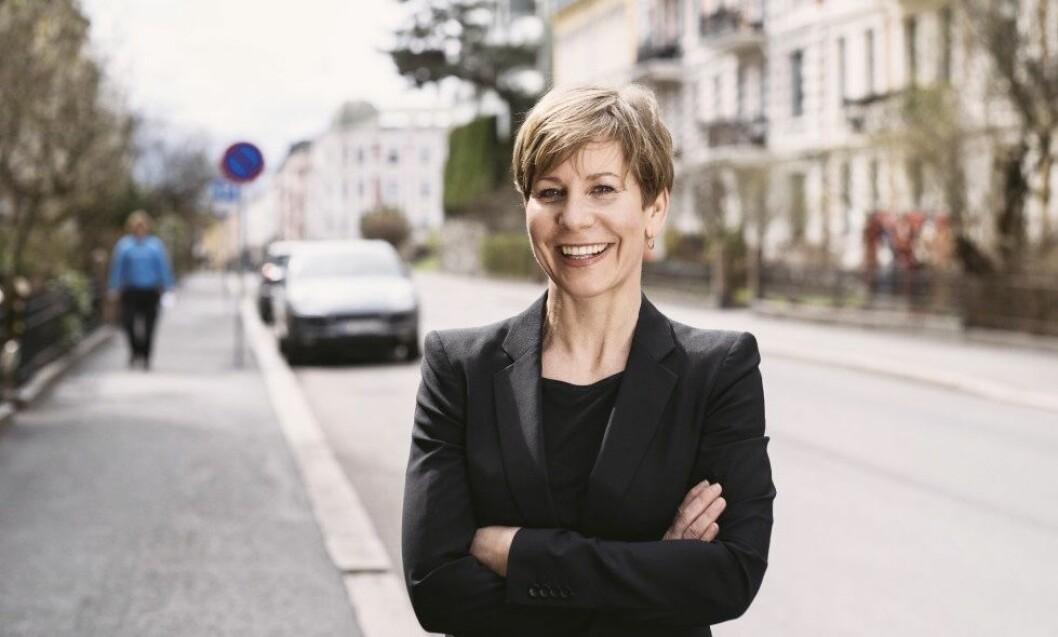 DELE: Camilla Moneta mener vi trenger flere boliger som gir mulighet til å dele og være sammen. Foto: Tommy Ellingsen
