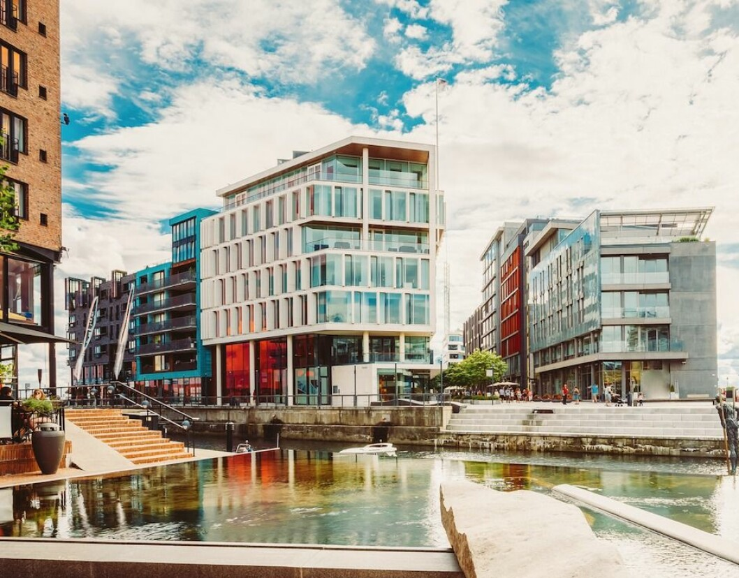 3,75 PROSENT: Investorene i undersøkelsen til Malling & Co tror prime yield i Oslos CBD vil holde seg flatt på 3,75 prosent. Foto: Shutterstock.