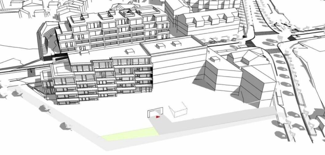 AKTIVE GATEROM: Prosjektet skal bidra til å gjøre Ekebergveien og Nordstrandveien til aktive gaterom. Ill: A-lab