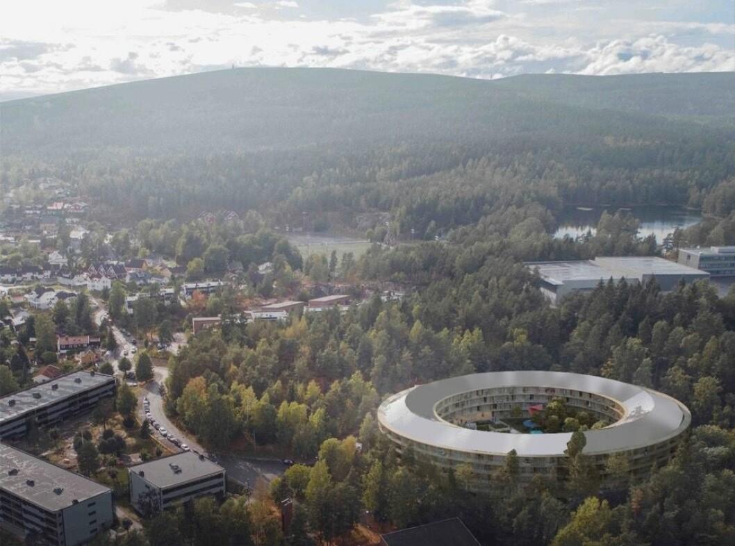 PLUSSHUS: OBOS utvikler plusshuset sammen med CODE Arkitektur, Dronninga landskap og IN`BY.