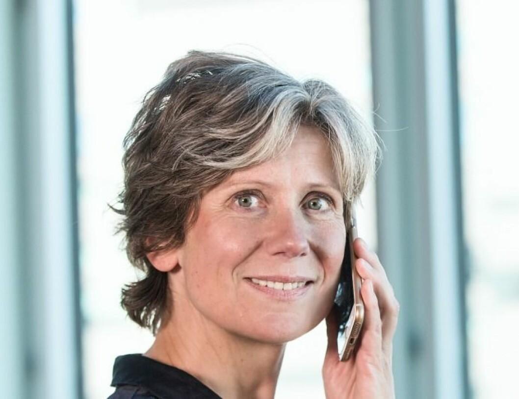 FOR FÅ MEDARBEIDERE: - Vi merket godt at vi var 5-7 medarbeidere short i fjor, sier Anne Helene Mortensen i DNB Nærigsmegling.