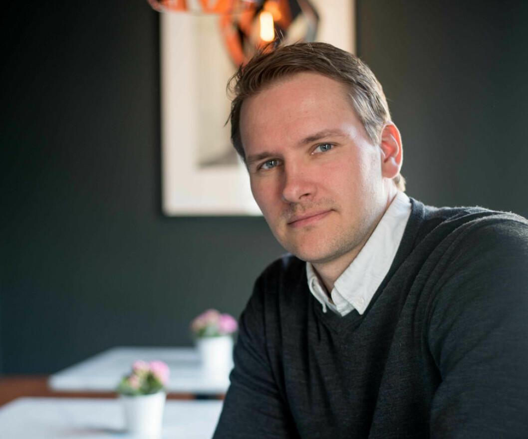 SKAL VOKSE MER: - Vi skal fortsette veksten og ta enda større andeler av markedet på Østlandet, sier partner og akkvisisjonssjef Anders Bakken Eriksen i Bonum.