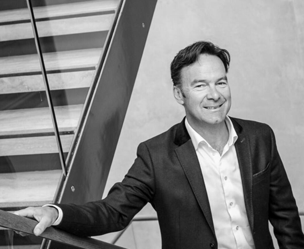 SATSER: Lars R. Kristiansen vil etablere et profesjonelt og relativt homogent kontorfellesskap innenfor eiendom og finans.