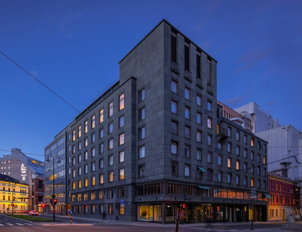 FORNØYD: Höegh Eiendom har lett etter en ny sentrumseiendom lenge og er fornøyd med å ha slått kloa i Kristian Augusts gate 23. Foto: Dmitry Tkachenko