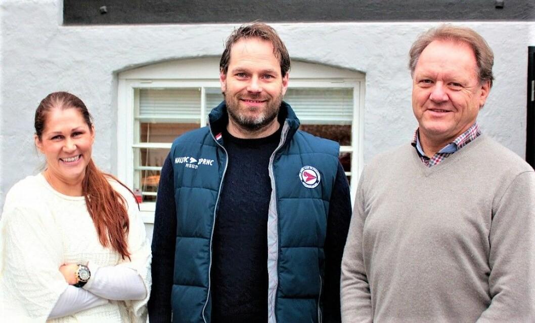 AKTER NYE PROSJEKTER: Hanne Monique Westgaard, Frode Røste og Pål Hansen kontrollerer eiendomsverdier til en milliard kroner, og er i markedet for å kjøpe mer.