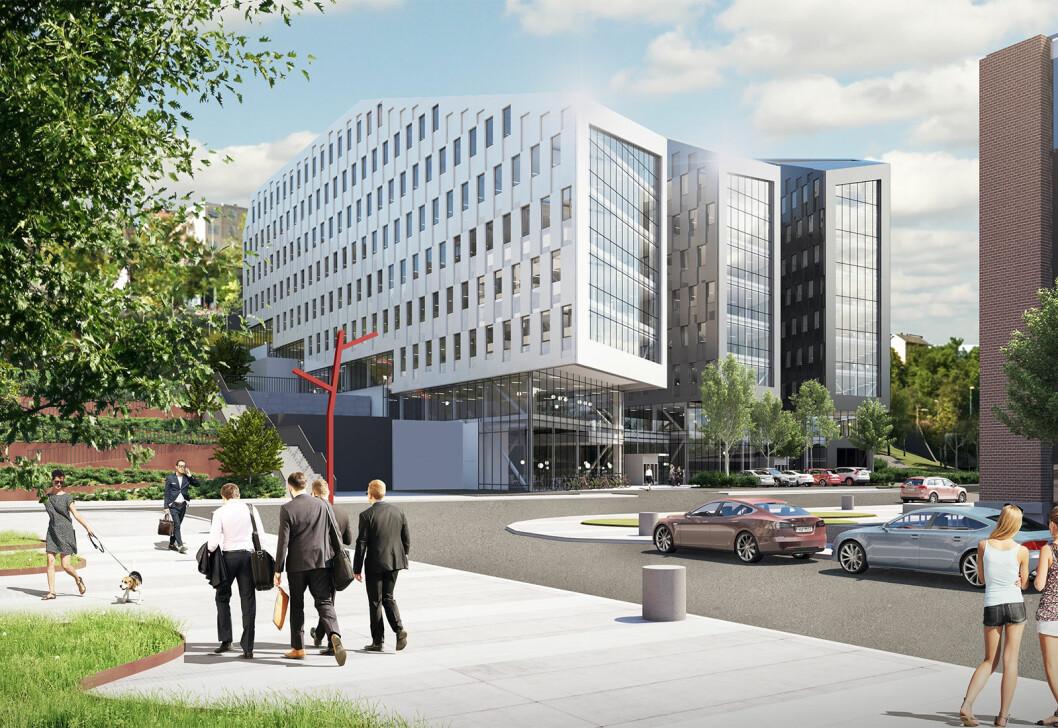 GRØNT: Obos Eiendom satser sterkt på miljøsertifisering i alle sine bygg.