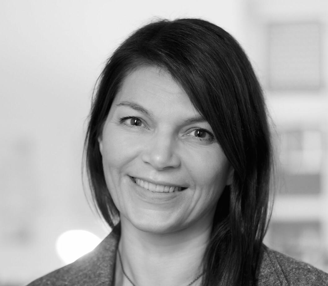 TAR STYRINGEN: Martha Bergh Lunde. Foto: Wenche Hoel-Knai.
