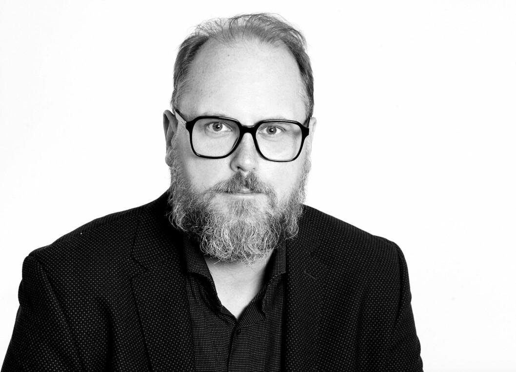 BYTTER JOBB: Geir Rognlien Elgvin.