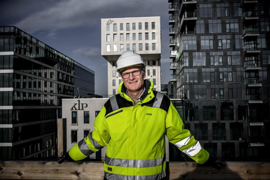 KNUTEPUNKTER: Administrerende direktør Kjell Kalland i Hav Eiendom har stor tro på områder ved kollektivknutepunkter. Foto: Hav Eiendom