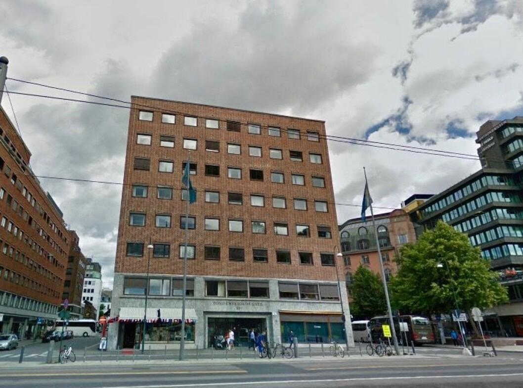 PÅ GUL LISTE: Tordenskiolds gate 12 er oppført på Byantikvarens gule liste over verneverdige bygninger. Foto: Google Street View