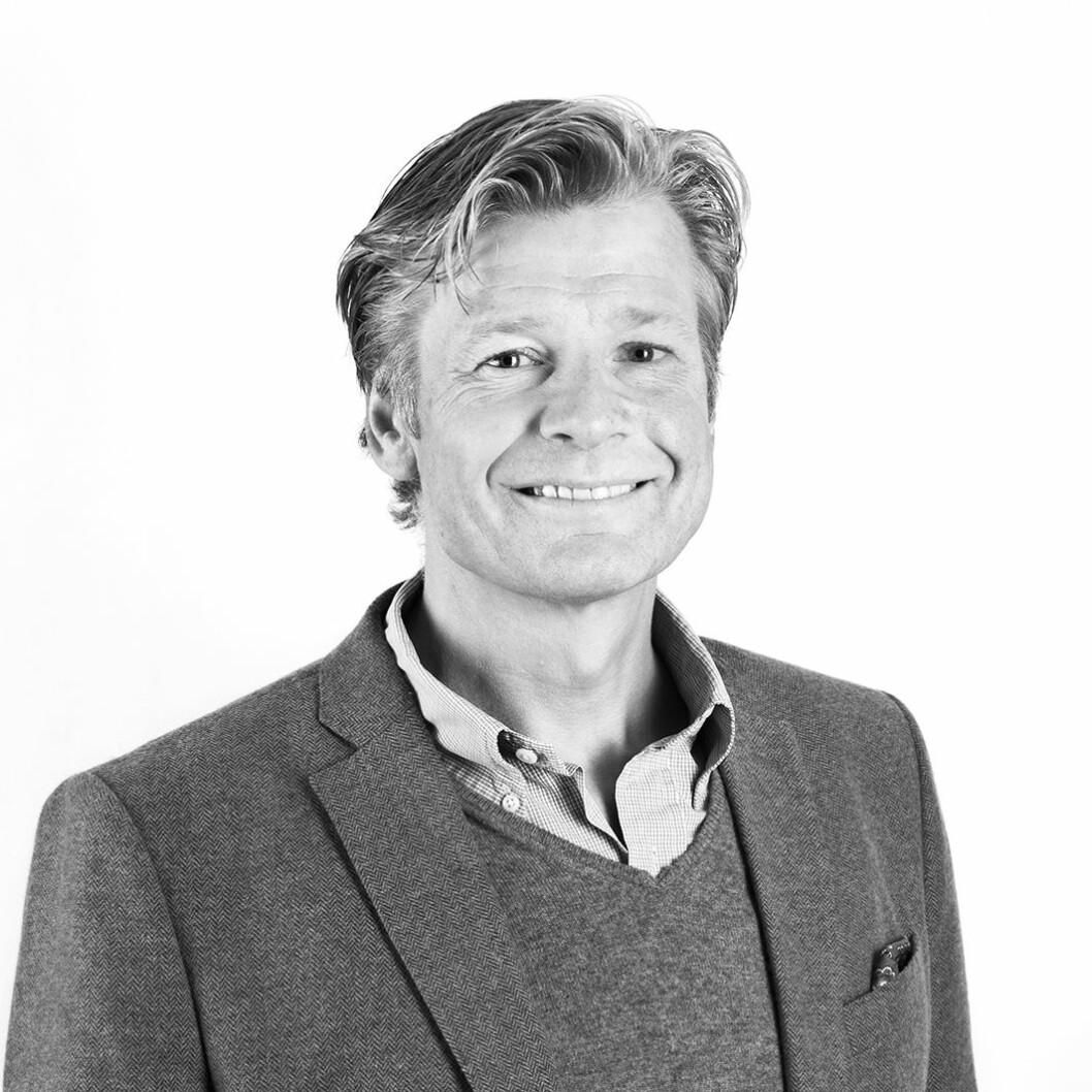 CASHER INN: Edgar Haugen casher inn på leiegårder i Oslo sentrum.