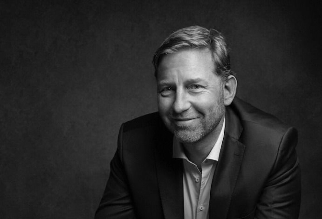 VINN-VINN: Mathis Grimstad mener samarbeid med teknoligiselskapet Imerso vil minimere feil i konstruksjonsfasen. Foto: Marius Viken