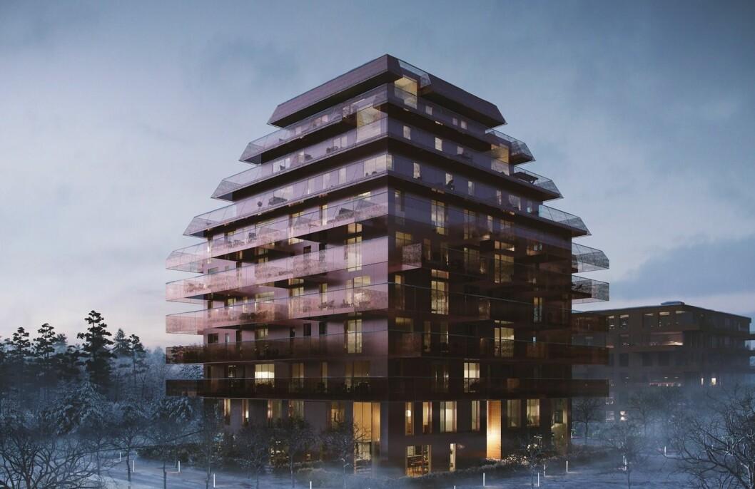 SKI: Solon har engasjert Betonmast nok en gang. Il: Reiulf Ramstad Architects EVE IMAGES