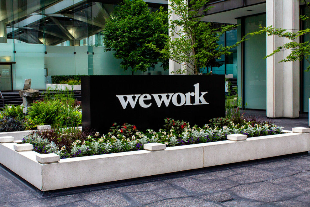 TRØBBEL: WeWorks morselskap sliter med å få opp investorenes entusiasme. Foto: Mitch Hutchinson/Shutterstock.com