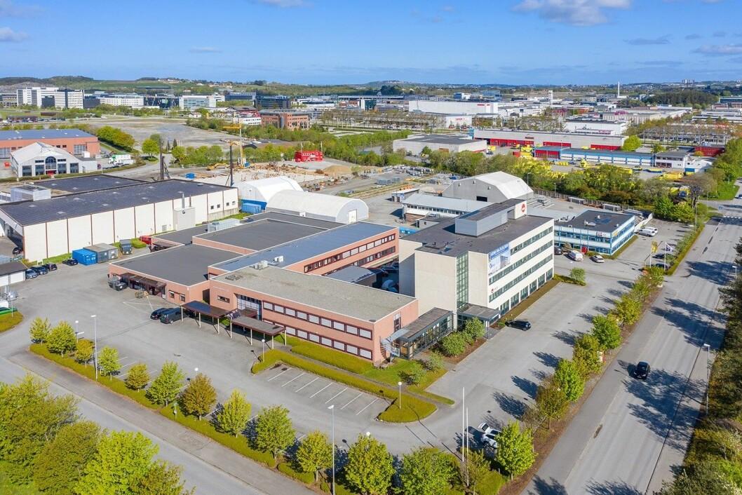 SELGES: Svanholmen 7 på Forus er nå lagt ut for 50 millioner kroner.