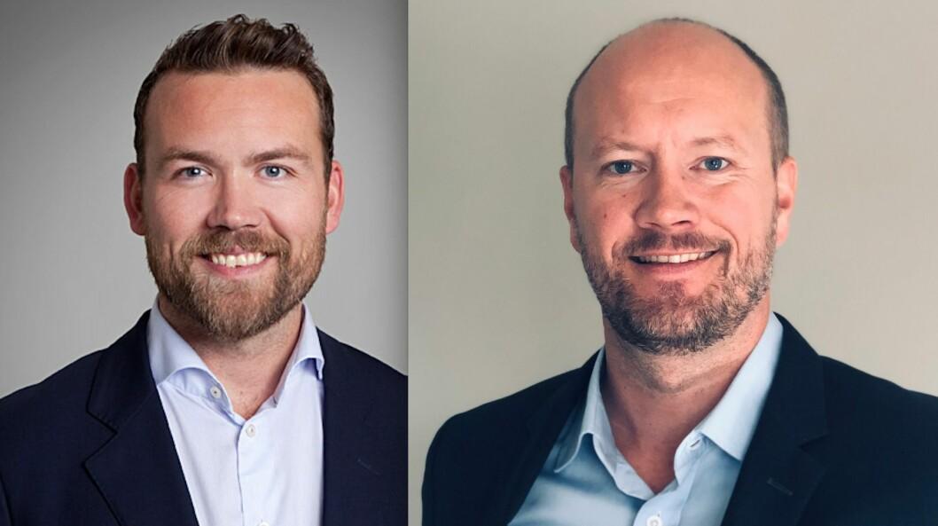 NYE FREDENSBORG-TOPPER: Kristian Berentsen og Torstein Håland går inn i ledelsen i Fredensborg.