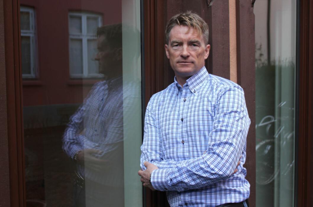 SATSET PÅ BUNNEN: Kjartan Aas var blant eiendomsinvestorene som gikk inn i eiendomsmarkedet på 1990-tallet. Det har gitt ham en solid en solid eiendomsformue i dag.(Foto: Tore Årdal)