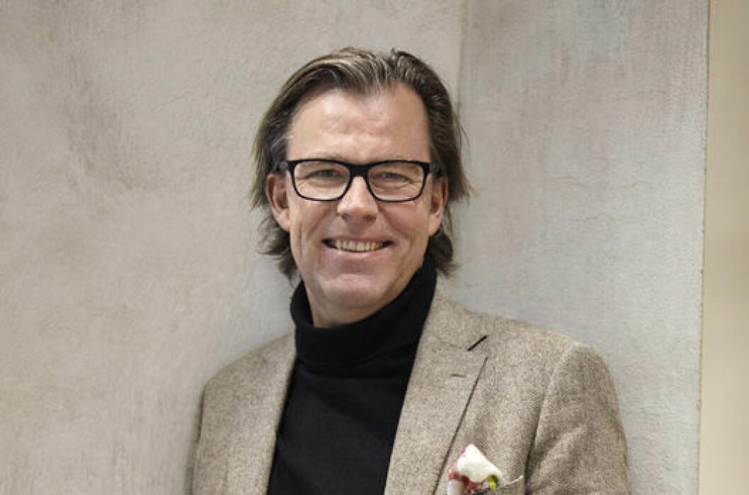 STORE AMBISJONER: Øystein Aurlien skal lede Yte, som har ambisjoner om å bli eiendomsbransjens storsatsing innenfor sosial bærekraft.