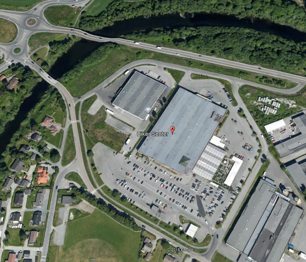 STORE MULIGHETER: Tellus Eiendom ser store muligheter i å utvikle eiendommen videre. Foto: Google