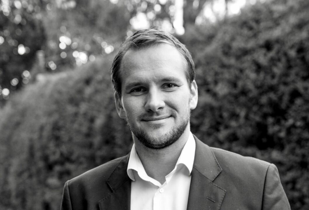 300 MILL.: Anders Bakken Eriksen i Bonum har hentet 300 millioner kroner.