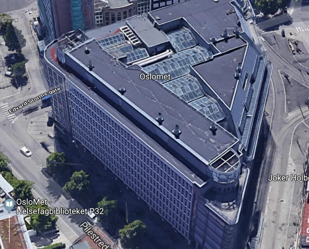SOLGT: Pilestredet 35 er solgt til UNION. Foto: Google Maps.
