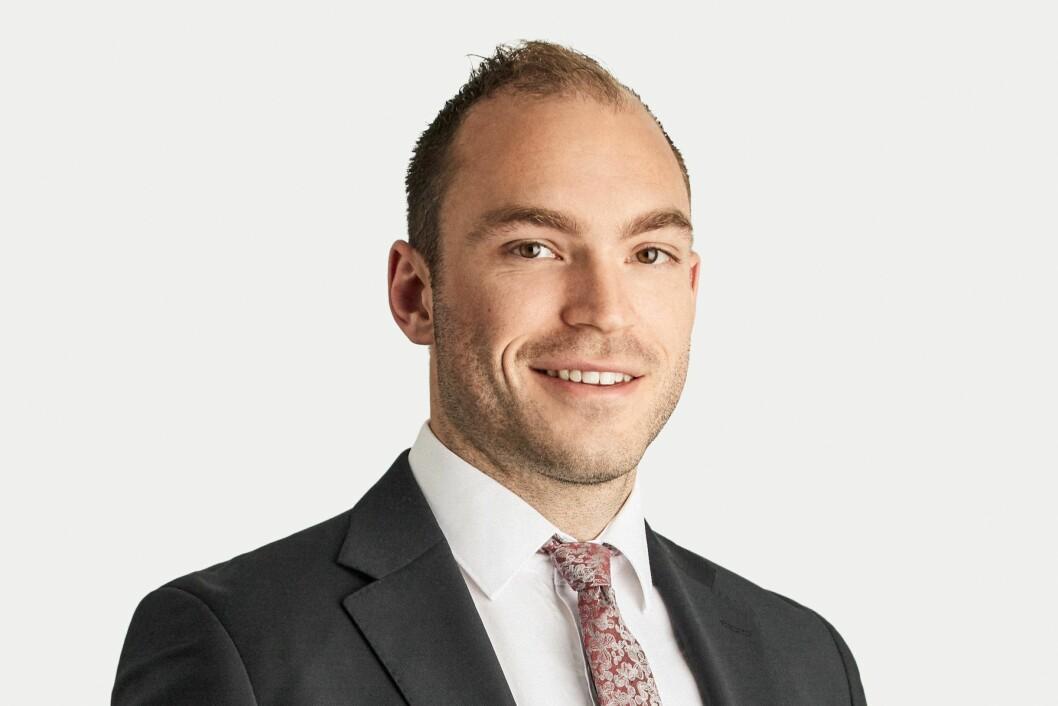 NY: Martin Lie Hauge har tiltrådte som advokat i Bing Hodneland.