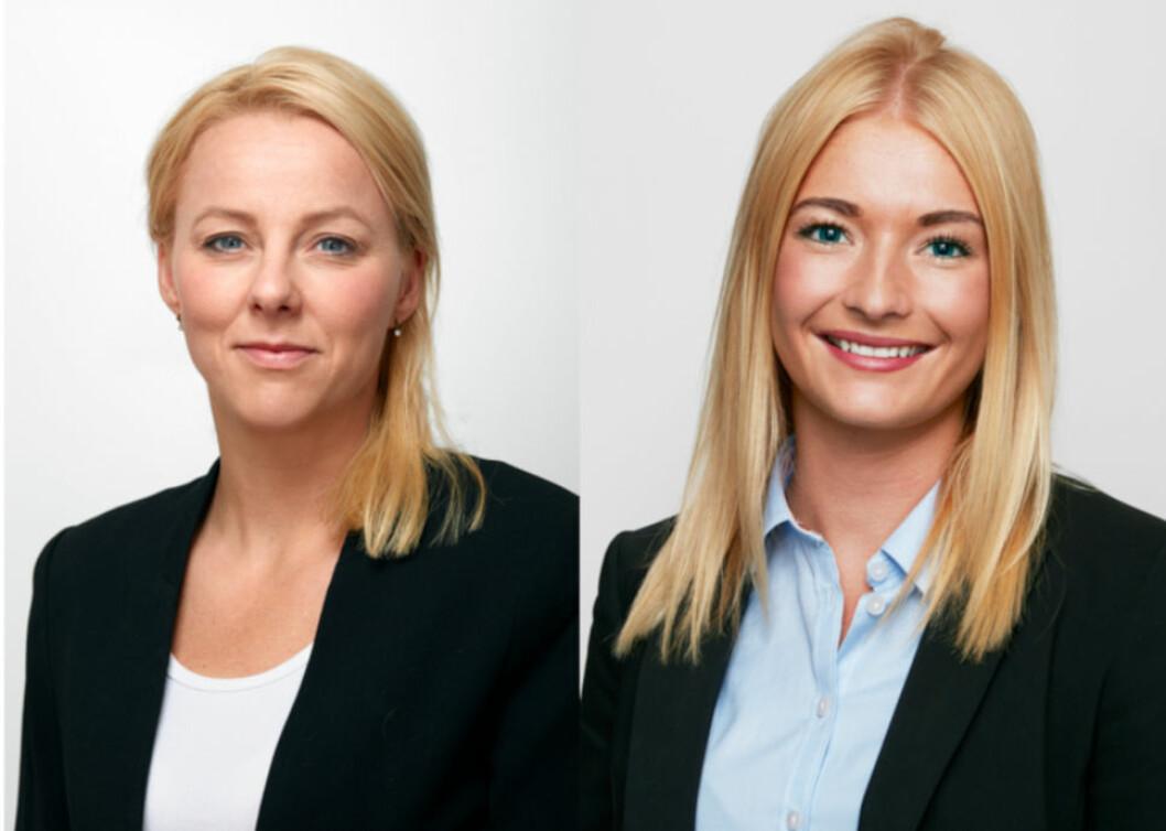 SETTER FOKUS PÅ PROPTECH: Selmer-advokatene Trude Gran Melbye (t.v.) og Helene Flølo.