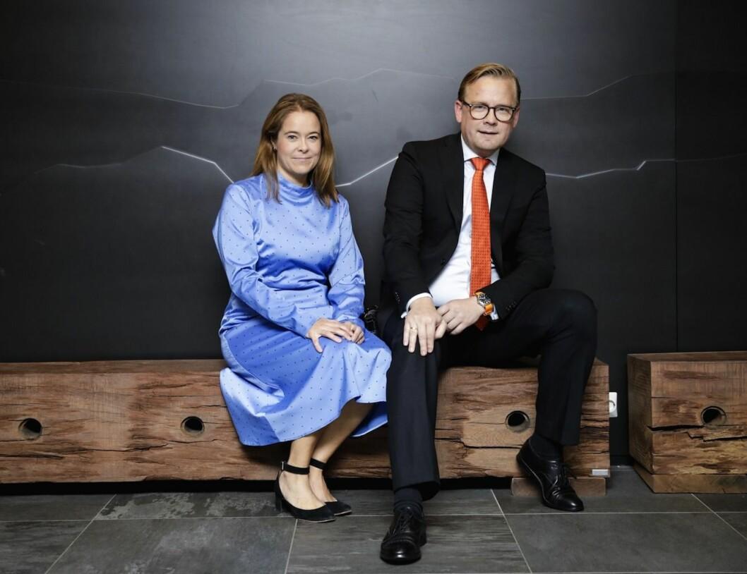Hanne Pernille Gulbrandsen og Christoffer Nicolaisen i Deloitte Advokatfirma. Foto: Johnny Vaet Nordskog