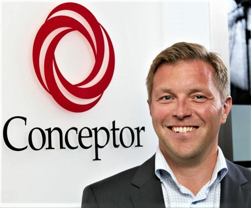 HAR FLERE TUSEN BOLIGER UNDER UTVIKLING: Ronnie Egeland, administrerende direktør i Conceptor.