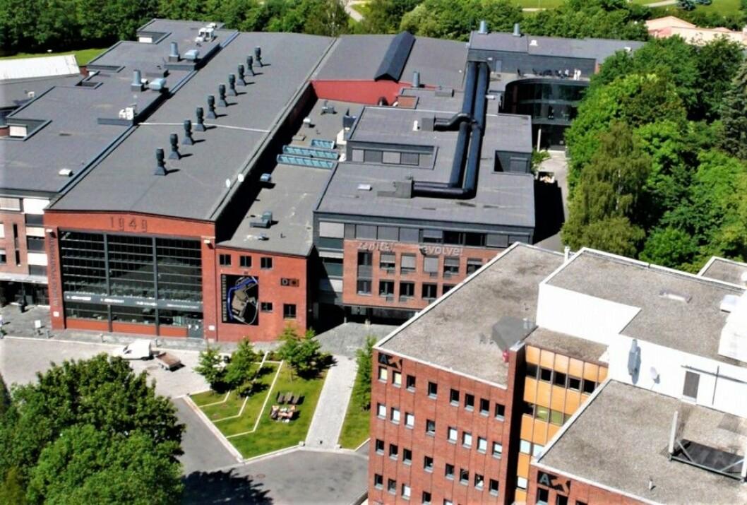 FRA INDUSTRI TIL NÆRINGSLOKALER: Myrens Verksted eies av Myren Eiendom, som igjen kontrolleres av Alexandra Angelil, datter av Eltek-gründer Alain Angelil. Blant leietakerne i de gamle fabrikkbygningene er NRK Østlandssendingen.