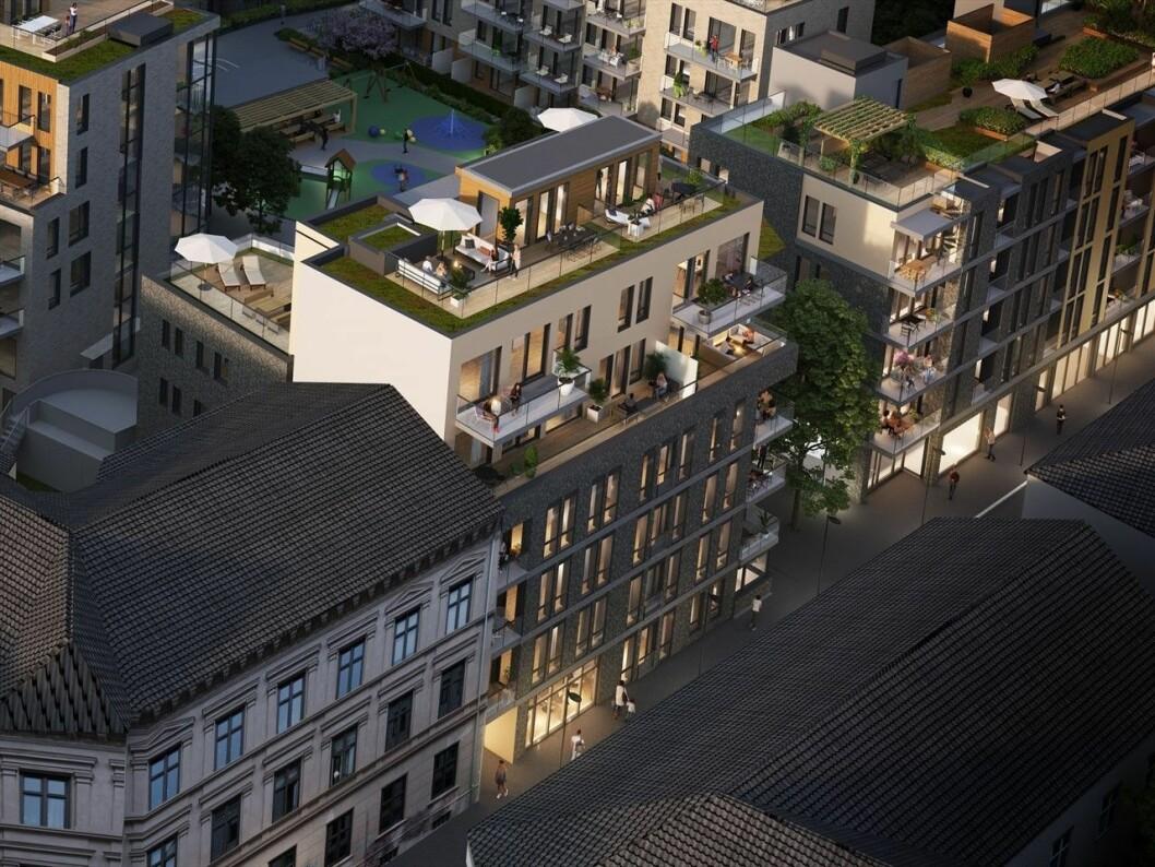 POPULÆRT: Mange vil bo i Millskvartalet på Grünerløkka.