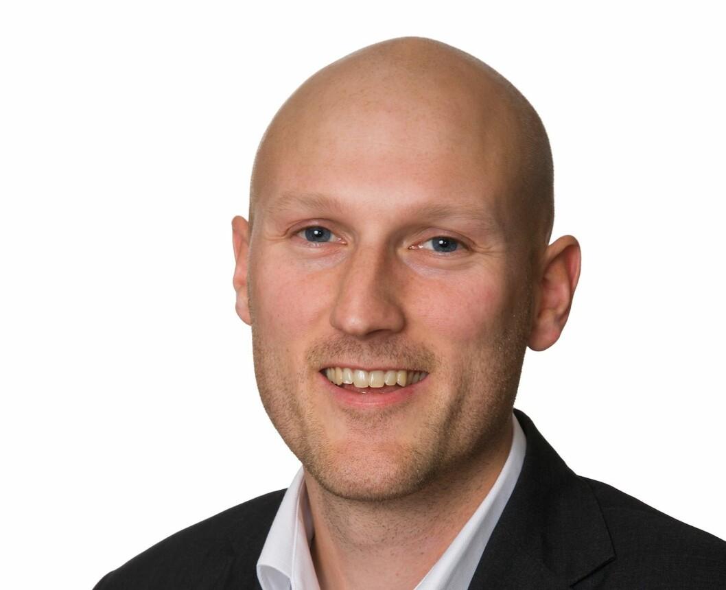 NY RAPPORT: Analysesjef Robert Nystad i UNION Gruppen er ute med en ny markedsrapport.