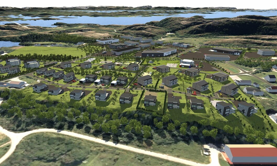 MILLIARDPROSJEKT: Norbolig har store planer for utbygging på Marøya.