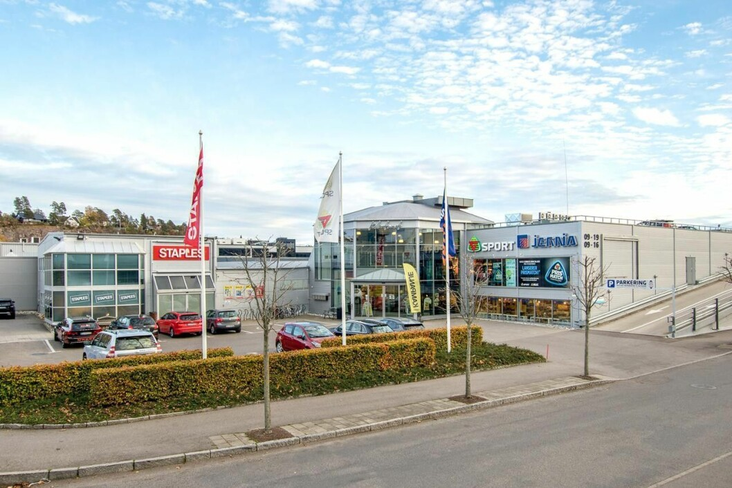 ETABLERT: I annonsen påpekes det at Kilen er det mest etablerte handelsområdet i Tønsberg. Foto: Q4 Næringsmegling