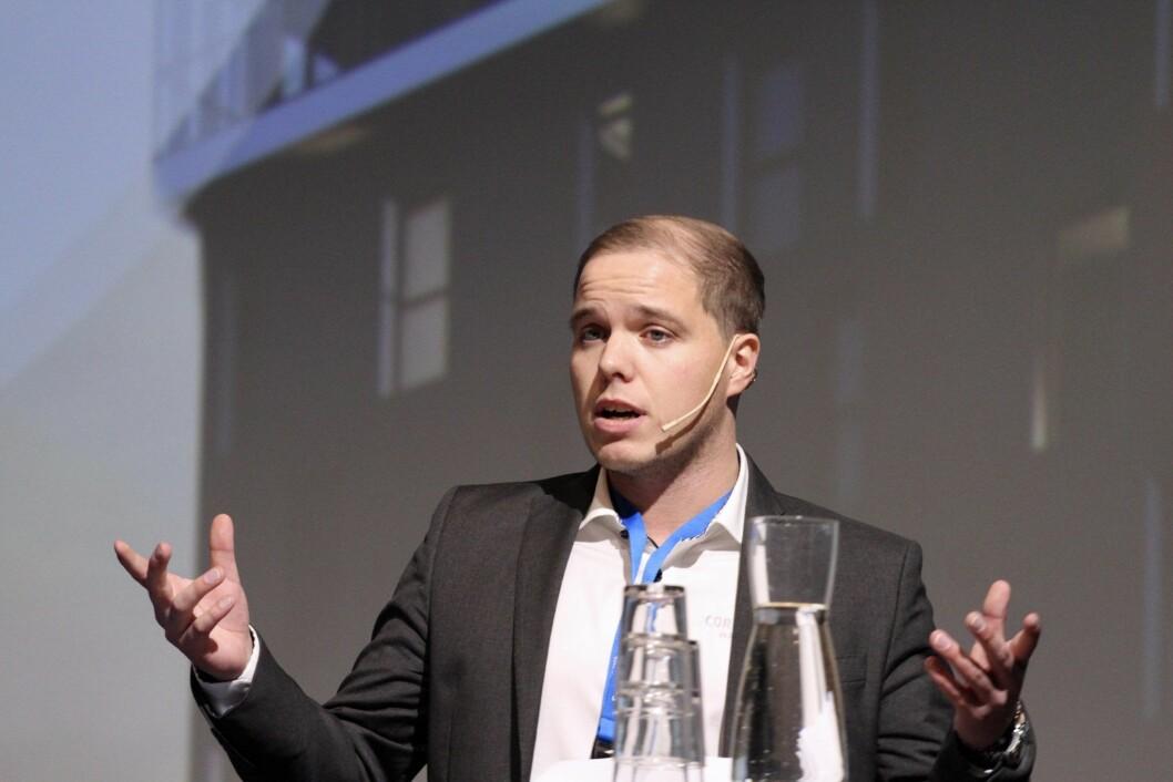 SUKSESS: Mathias Nilssen i Corponor opplevde umiddelbar suksess med The Storm.