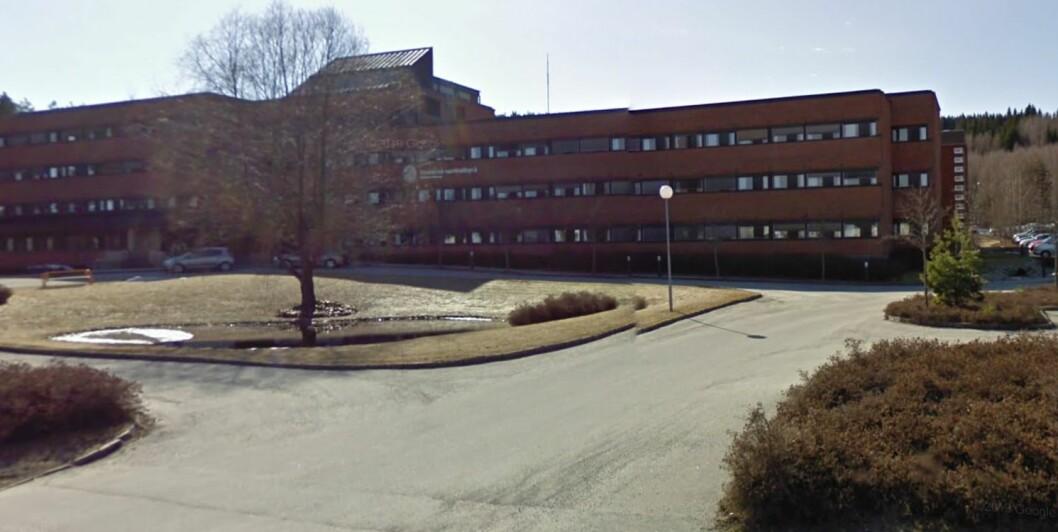 STATLIG OPPRYDDING: Staten selger unna eiendommer. SSB-bygget i Kongsvinger gikk under hammeren i sommer. Foto: Google Street View.
