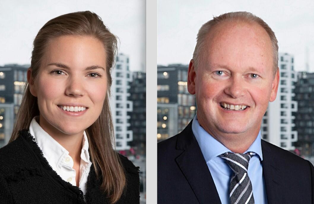 NYE I NEWSEC: Ingrid S. Hagen og Ole Magne Silnes går til Newsec.