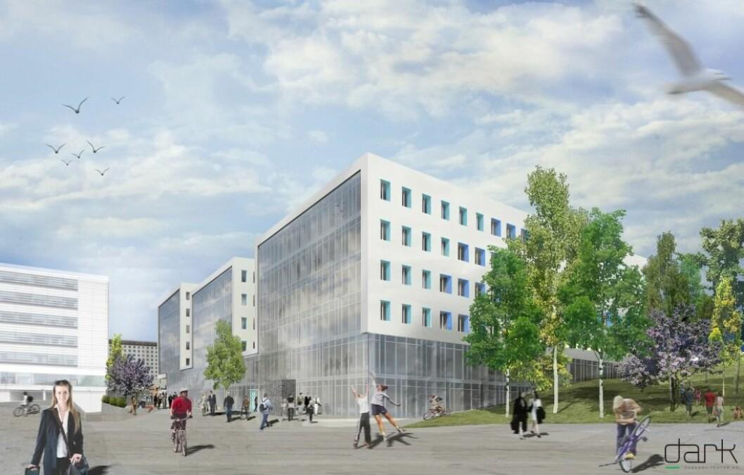 SALG: Oslo Cancer Cluster er et prosjekt OBOS Eiendom har gjennomført sammen med Utstillingsplassen Eiendom.