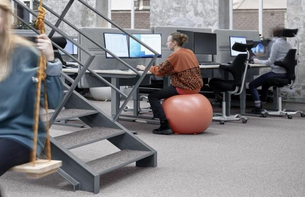 MILLIONER: Den svenske interiørleverandøren har fått avtale med Oslo. Foto: Input interior
