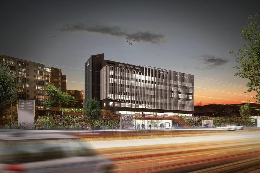 ØKONOMISK: KLP Eiendom sparte penger ved å beholde Max-bygget i Trondheim.