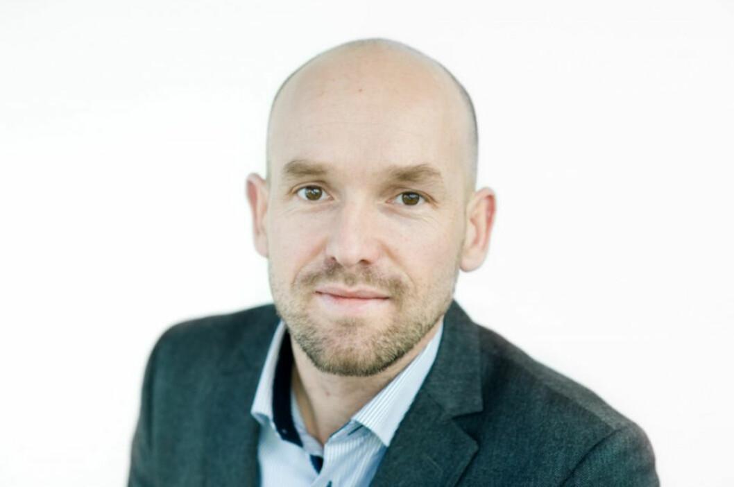 TILTRER I MORGEN: Kjetil Hoff, ny direktør for eiendomsforvaltning i Entra.