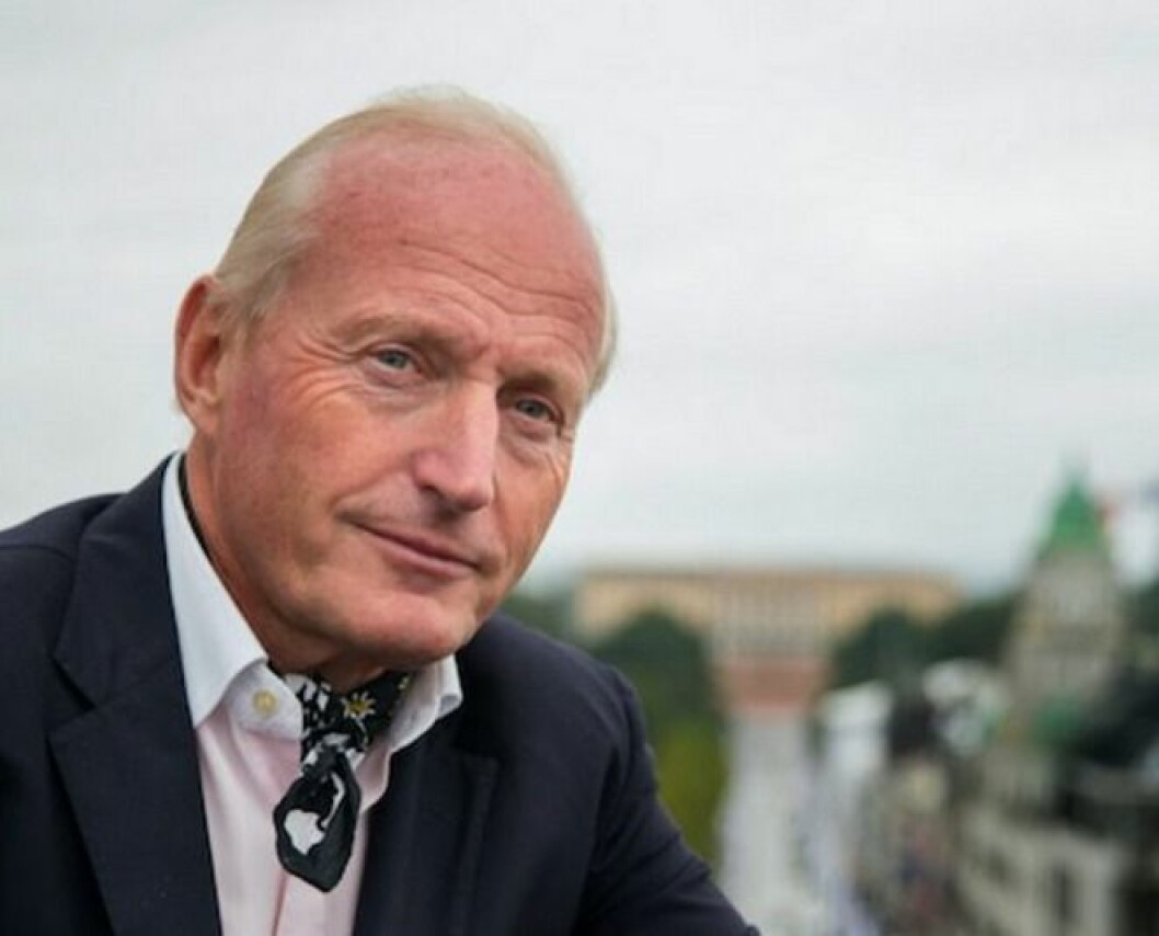 HAR TROEN: Christian Ringnes har tro på nytt hotell i Oslo sentrum.