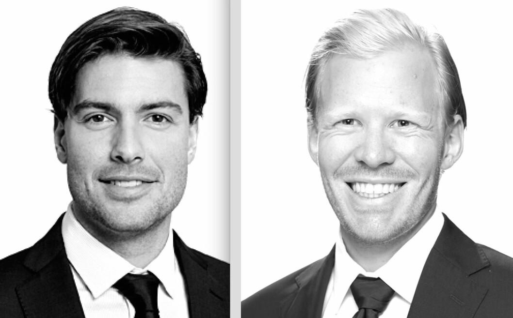 NYE I NORDANÖ: Luca Alexander Riis (tv) og Harald Haakonsen går til Nordanö.