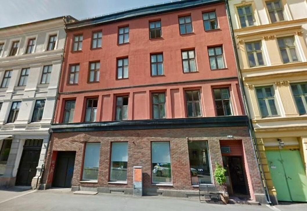PUSSES OPP: Eiendommen skal rehabiliteres. Foto: Google Street View.