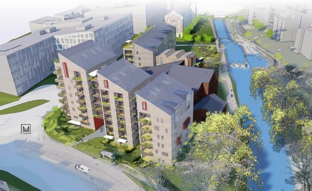 BEGRENSET: Plan- og bygningsetaten mener handlingsrommet for planområdet er svært begrenset. Ill: Mer Arkitektur